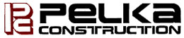 Pelka construction logo